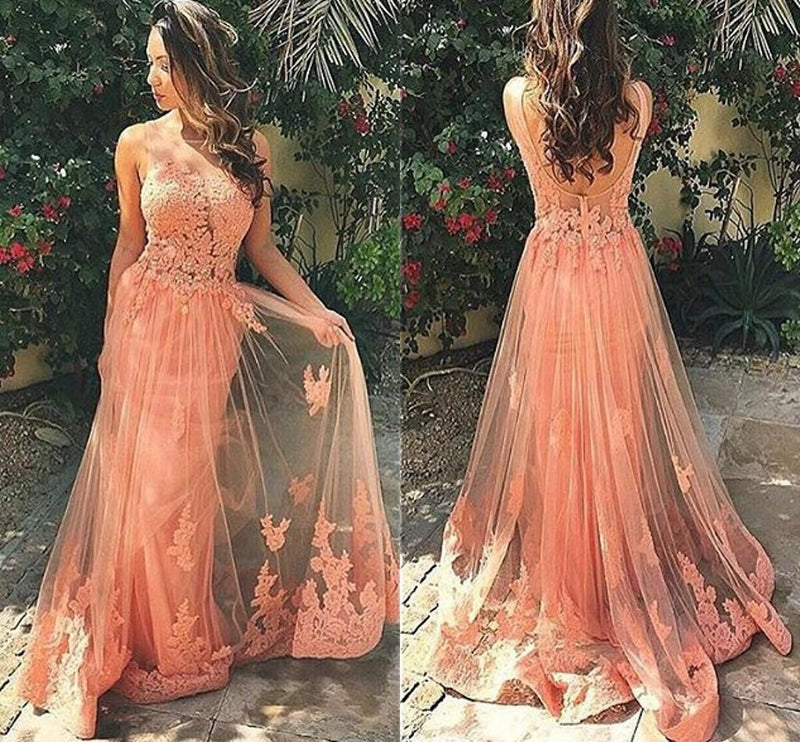 Coral Prom Dresses 2019,