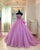 Light Purple Quinceanera Dresses Sweetheart Appliques Organza Ball Gowns Sweet 16 Dresses