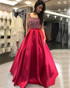 prom-dresses-beadings prom-dress-satin red-prom-gowns prom-dress-2018 new-2018-prom-dress prom-dresses-beaded prom-dresses-2019 prom-dresses-ball-gowns trajes de gala vestidos de baile выпускные платья prom-dresses