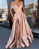 prom-dresses-2019 prom-dresses-satin prom-gowns-blush-pink pageant-dress-satin evening-dresses-satin formal-dress prom-dresses-v-neck evening-gowns-backless formal-dresses evening-dress-2019 2019-prom-dress