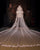 Beautiful Lace Wedding Veils with Appliques for Brides 3 meters Length