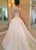Elegant Sheer Long Sleeve Lace Wedding Dresses Appliques 2019 New Bridal Dress Ball Gown