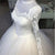 Elegant Full Sleeve Lace Wedding Dresses with Appliques 2019 Puffy Tulle Bridal Dress Ball Gown