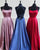Real Photo Simple Prom Dresses with Spaghetti Straps Long Prom Party Gowns 2019