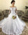 Lace Full Sleeve Wedding Dresses Ball Gown 2019 Off The Shoulder Elegant Bridal Gowns Appliques