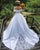 Popular Satin Ball Gown Wedding Dress with Lace Appliques Off The Shoulder 2019 Bridal Gowns
