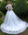 Elegant Lace Long Sleeves Wedding Dresses Appliques Beaded New 2019 Bridal Gowns