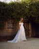 Popular 2019 Summer Beach Wedding Dresses Off The Shoulder A-line Lace Tulle Bridal Gowns