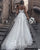 Popular Bohemian Wedding Dress A-line Lace Appliqued Sweetheart Beach Tulle Plus Size Bridal Gown