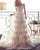 Champagne Wedding Gowns Lace Appliques A Line Spaghetti Straps Backless Bohemian Bridal Gown 2020