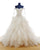 Elegant Tulle Layered Skirts Wedding Dresses Ball Gown Full Sleeve Lace Appliques Bridal Gown 2020