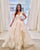 Beautiful Ball Gown Wedding Dresses Tulle Ruffles V-Neck Country Bridal Gowns New Arrival 2020