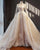 Vintage Lace Wedding Dresses Ball Gown Full Sleeves Cathedral Train Princess Bridal Gowns Real