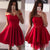 New Arrival Red Homecoming Dress Sexy Short Party Dress