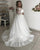 2020 Plus Size Lace Wedding Dresses Full Sleeve Off The Shoulder Tulle Bridal Gowns Appliques