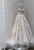 Sexy Lace Wedding Dresses with Spaghetti A-line Bridal Wedding Gown 3D Flowers