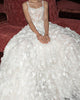 Gorgeous Lace Wedding Dresses 3D Flowers Sexy Beach Bohemian Bridal Gowns with Spaghetti