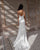 2021 Simple Wedding Dresses New Silk Satin Sexy Open Back Mermaid Wedding Gown