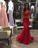 Sexy Mermaid Prom Dresses Deep V-Neck Elegant Long Prom Party Gowns 2021 New