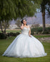 Gorgeous Sequined Quinceanera Dresses Ball Gown Sparkly Sweetheart Plus Size Quince Sweet 16 Dress