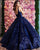 Sparkly Sequined Quinceanera Dress V-Neck Princess Ball Gowns vestidos de quinceañera Celebrity Dress
