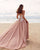 Delicate Blush Pink Lace Wedding Dress Appliques Sweetheart Strapless Sexy Bridal Gowns for Women