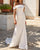 Elegant Off The Shoulder Wedding Dress Mermaid Bridal Dress Simple Strapless Bridal Gowns