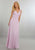 Elegant Pink Mother of the Bride Dresses Chiffon Beaded Long Party Dress with Jackets