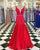 prom-dresses-2018 new-prom-dress fashion-2018-prom-dresses 2018-prom-dresses-red prom-dresses-ruffles prom-dresses-v-neck prom-dresses-beadings long-prom-dresses mermaid-prom-dresses-long