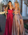 Sexy 2020 Prom Dresses with Deep V-Neckline Long Prom Gowns Split Side Floor Length New