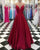 prom-dresses-2018 new-prom-dress fashion-2018-prom-dresses 2018-prom-dresses-green prom-dresses-a-line prom-dresses-v-neck prom-dresses-spaghetti-straps long-prom-dresses satin-prom-dresses-long prom-dresses-burgundy