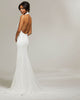 Sexy 2018 Mermaid Wedding Dresses Halter Neckline Spandex Simple Wedding Gowns Backless