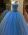 2018 Ice Blue Quinceanera Dresses with Pearls Beaded Sweetheart Tulle Ball Gowns Sweet 16 Dress