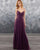 bridesmaid-dresses bridesmaid-dress-long  party-gowns honor-of-the-maid-dresses bridesmaid-dress-chiffon grape-bridesmaid-dress party-gowns 2019-prom-dress