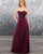 bridesmaid-dresses bridesmaid-dress-tulle  party-gowns honor-of-the-maid-dresses-sweetheart bridesmaid-dresses-sleeves bridesmaid-dresses-long burgundy-bridesmaid-dress