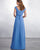 2019 New Chiffon Long Bridesmaid Dresses V-Neck Ruffles Floor Length