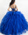 Royal Blue Quinceanera Dress Beaded Bodice Off The Shoulder Puffy Tulle Ruffles Sweet 16