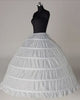 Ball Gown Crinoline Underskirt 6 Hoops Petticoats In Stock