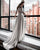 Simple 2018 Satin Wedding Dresses with Half Sleeve Open Back Wedding Gowns with Bow Floor Length