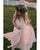 Blush Flower Girls Dresses A-line First Birth Party Gowns