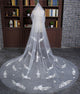 Wedding Veils with Appliques Accessories for Brides 3 meters Length