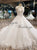 New Arrival 2018 Blush Pink Lace Ball Gown Wedding Dresses with Flowers