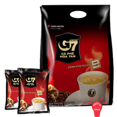 Trung Nguyen G7 Instant Coffee Mix 3 in 1 - 50 sachets x 16gr/pack