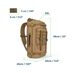 Bagrun Tactical Backpack 50L - bagrun