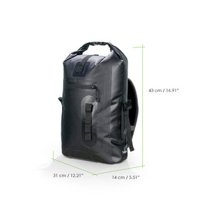 Bagrun Waterproof Backpack 35L Black - bagrun
