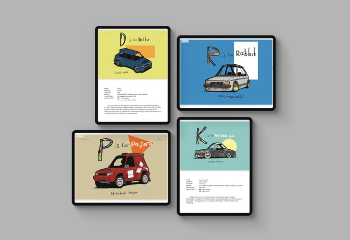 What Car Is That??? E-Book Edition with Coloring Sheets