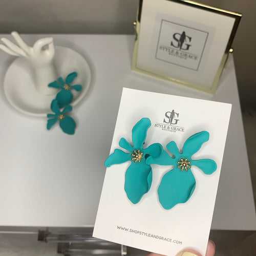 DASH TURQUOISE EARRINGS