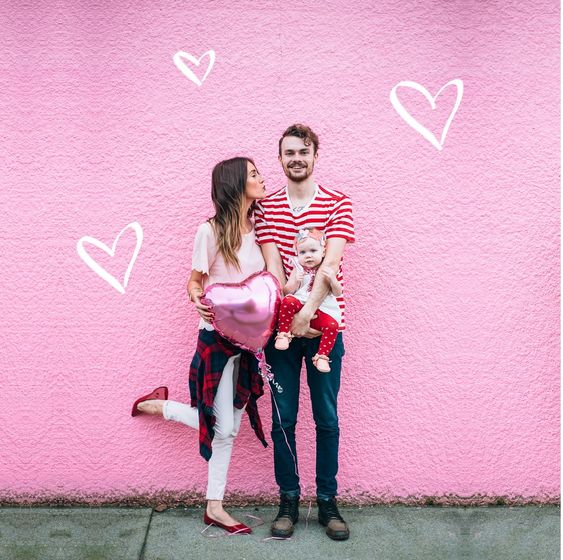 Valentine's Day Pregnancy Announcements