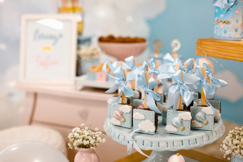 Throwing a baby shower