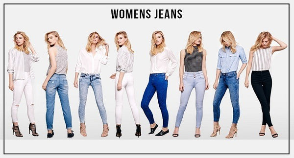How to buy women's jeans?